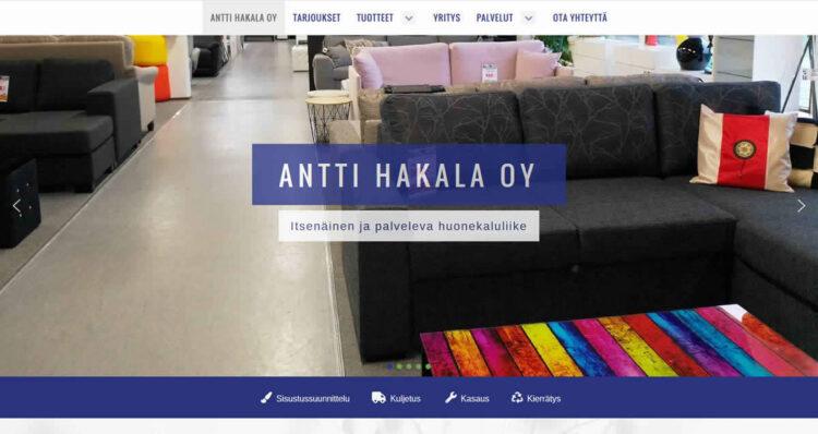 Artio uudisti huonekaluliikkeen verkkosivut nykyaikaisiksi