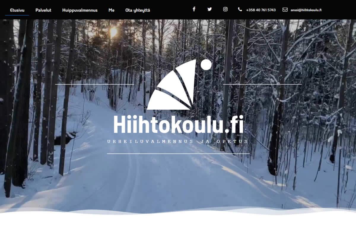 Hiihtokoulu.fi Anssi Pentsinen