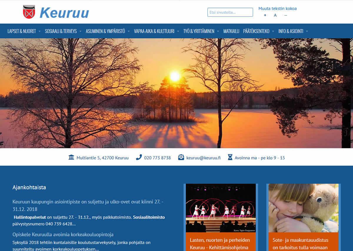 Julkisyhteisöt: Uudet verkkosivut - parempaa kuntaviestintää