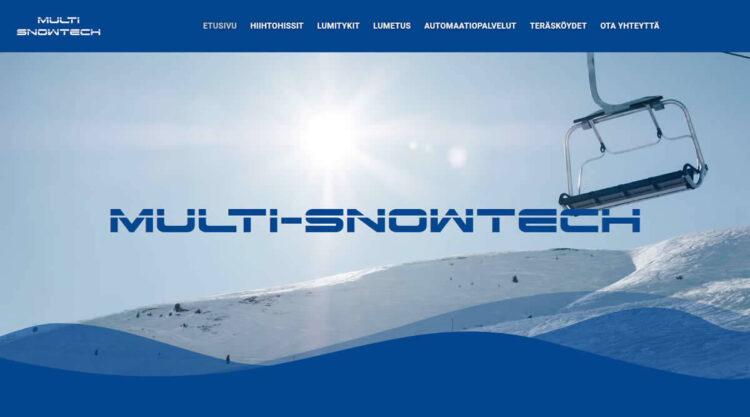 Multi-Snowtech-sivusto