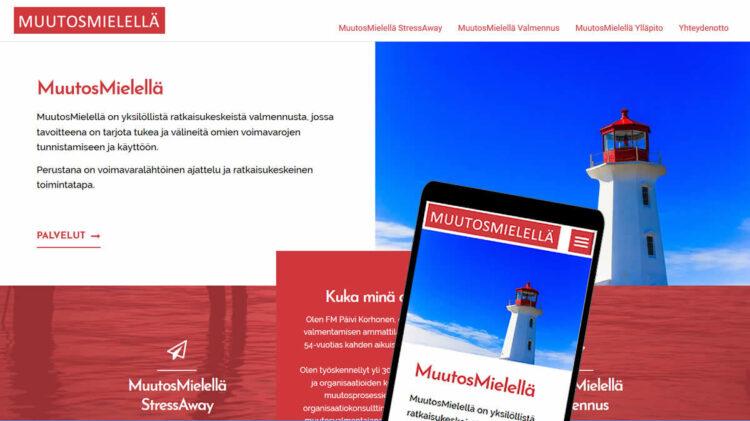 Uusi palvelu, MuutosMielellä, tarjoaa apua stressitilanteissa, kun suunta hukassa ja tavoite hakusessa.