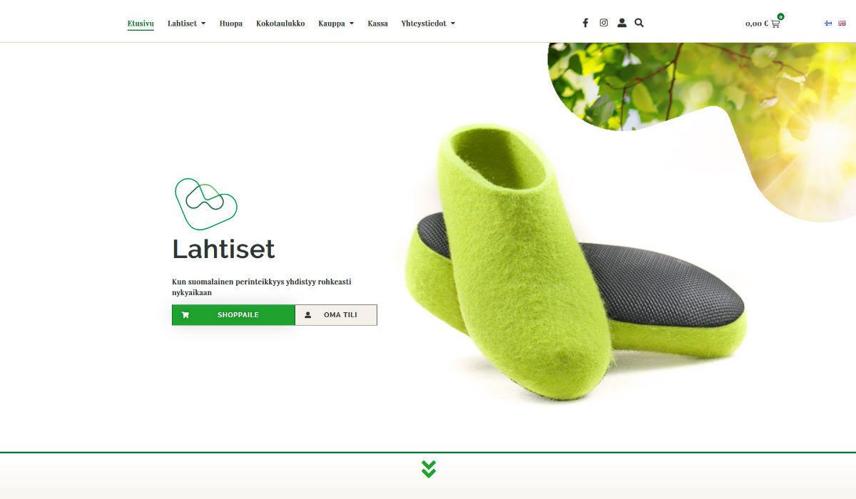 Lahtiset WooCommerce-verkkokauppa