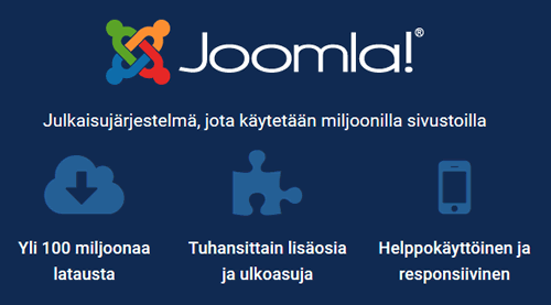 Nettisivut Joomla!-julkaisujärjestelmällä