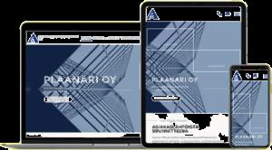 Suunnittelutoimisto Plaanari Oy -verkkosivut