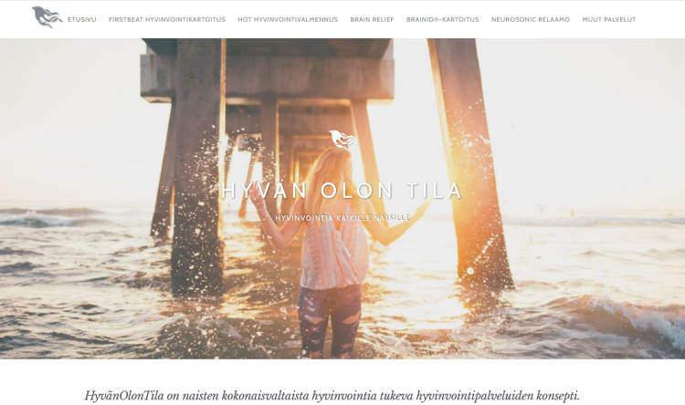 HyvänOlonTila-WordPress-sivusto