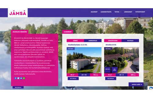 Jämsänmäki on Artio Oy:n toteuttama WordPress-toteutus Jämsän kaupungille.