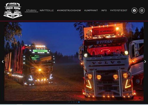 Tule viihtymään rentoon koko perheen kuljetusalan tapahtumaan! Himos Truck Show on nyt ensi kertaa Jämsän Himoksella.