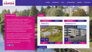 Kiinteistö Oy Jämsänmäki,Jämsän kaupungin kokonaan omistama vuokrataloyhtiö esittelee asunnot netissä
