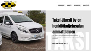 WordPress-kotisivut Taksi Jämsä Oy